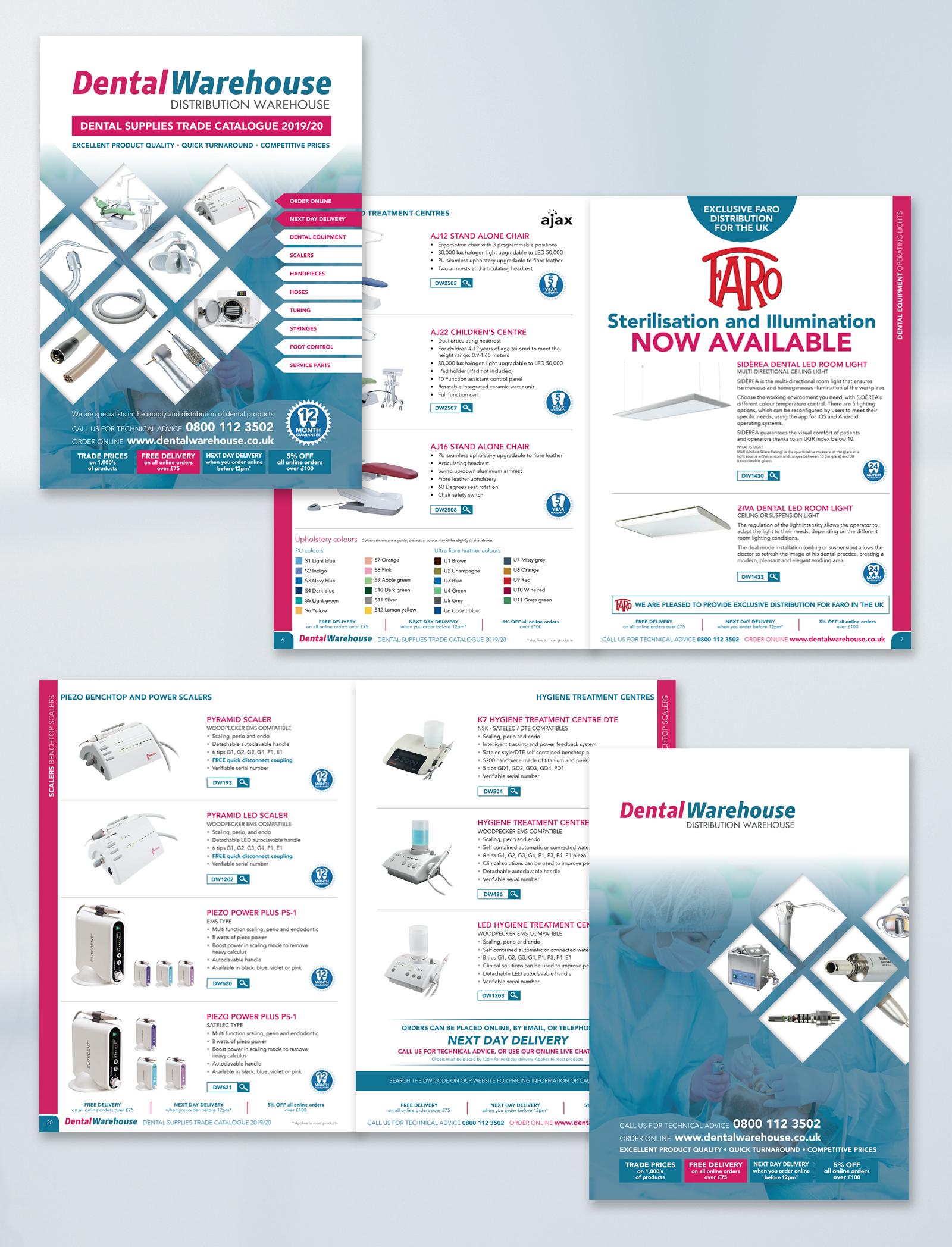 Large Product Catalogue Design