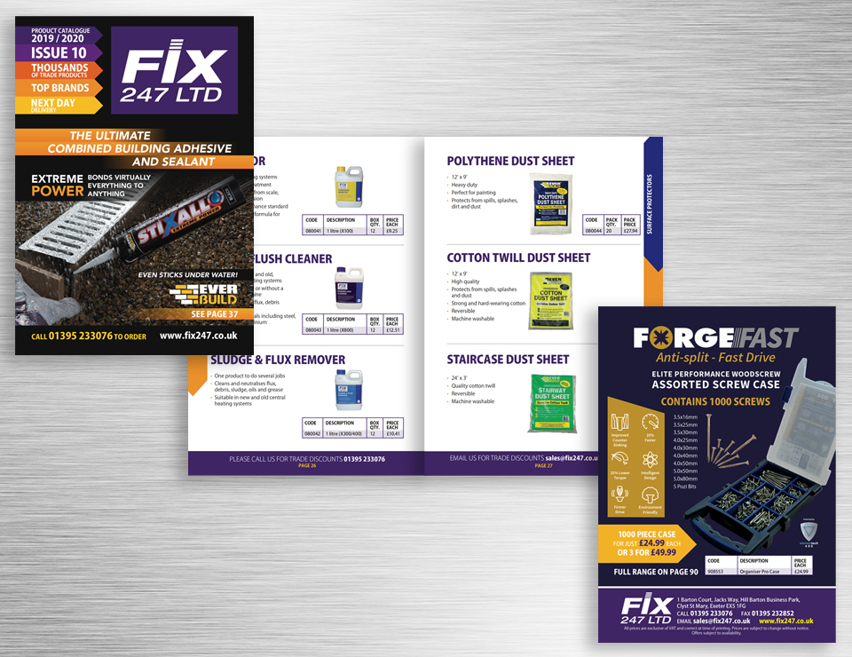 Annual Product Catalogue Design
