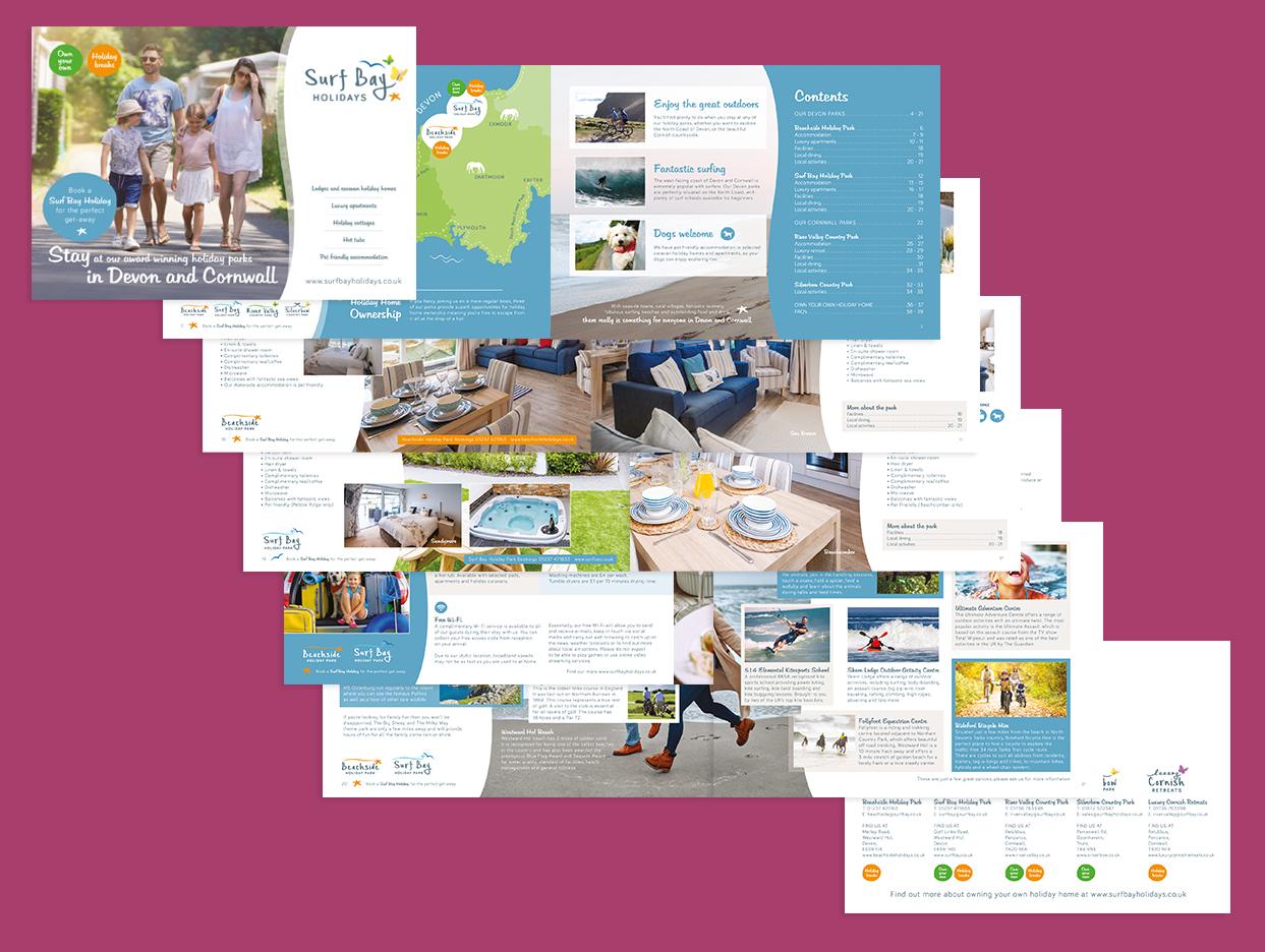 Surf Bay Holidays Brochure-Design
